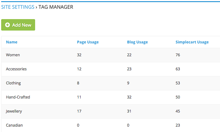 Tag Manager App