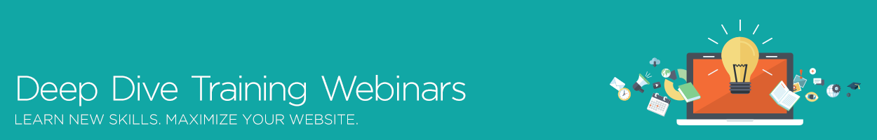 Deep Dive Training Webinars