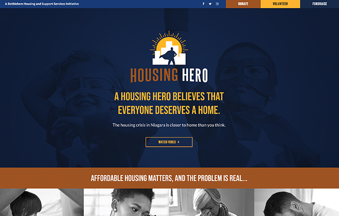Housing Hero | Smarter Website Design