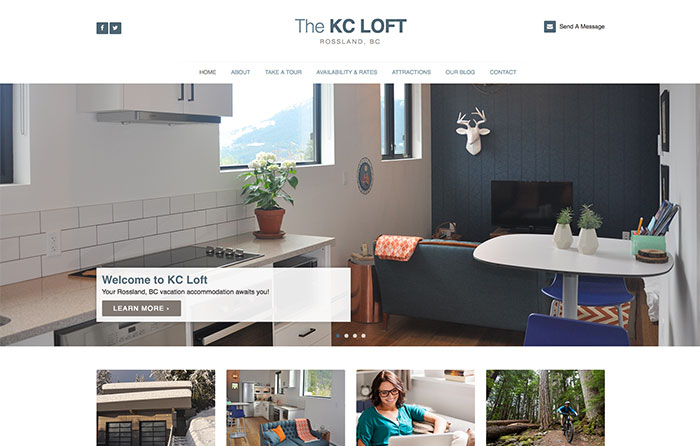 KC Loft, Turn-Key Website Design