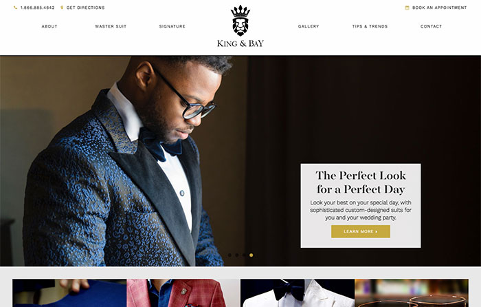 King & Bay Turn-Key Website Design, CMSIntelligence Inc.