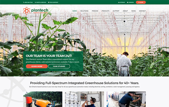 Plantech Control Systems Inc Website