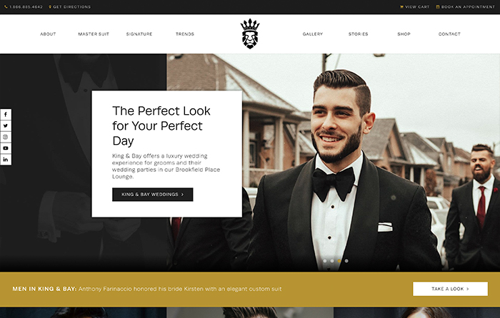 King & Bay | Smarter Website Design