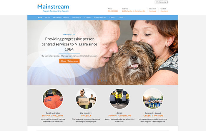 Mainstream Turn-Key Website Design, CMSIntelligence Inc.