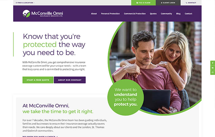 McConville Omni | Smarter Website Design