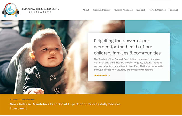 Restoring The Sacred Bond | Smarter Website Design