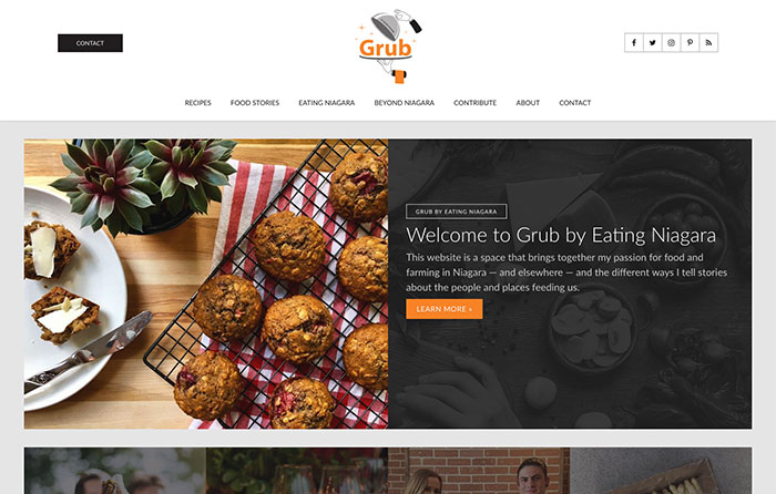 Time For Grub, Turn-Key Website Design, CMSIntelligence inc.